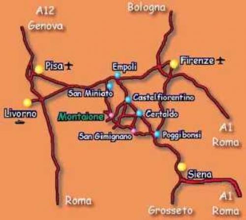 Ferien Doppelhaushälfte in Montaione#12