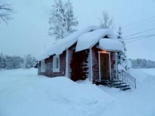 Lapplandstuga am See#9