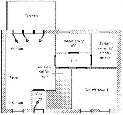 """Wohnung """"Robbenplate""""#18"""