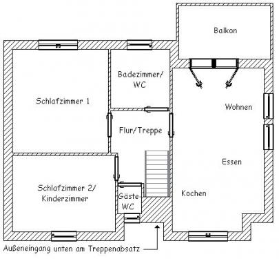 """Wohnung """"Westerriff""""#17"""