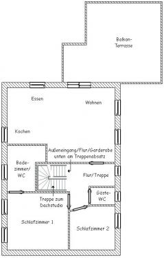 """Wohnung """"Süderriff""""#2"""