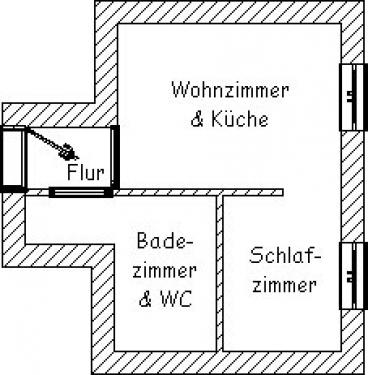 """Ferienwohnung """"Kleiner Seestern""""#21"""