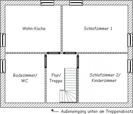 """""""Haus Wattkieker"""" Ferienwohnung """"Seestern""""#12"""