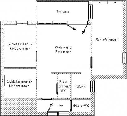 """Ferienhaus """"Der Seewolf""""#12"""