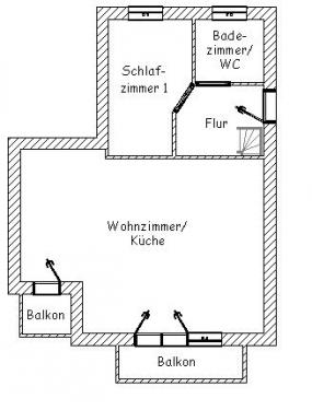 """Ferienwohnung """"Gorch Fock""""#24"""