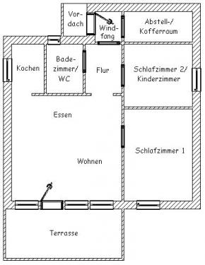 """Ferienhaus """"Dünenrose""""#5"""