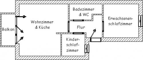"""Ferienwohnung """"Seeadler""""#16"""
