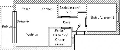 """Ferienwohnung """"Regenbogen""""#13"""