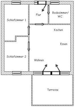 """Ferienwohnung """"Christoph Kolumbus""""#8"""
