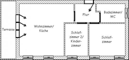 """Ferienwohnung """"Friesen-Chalet""""#19"""