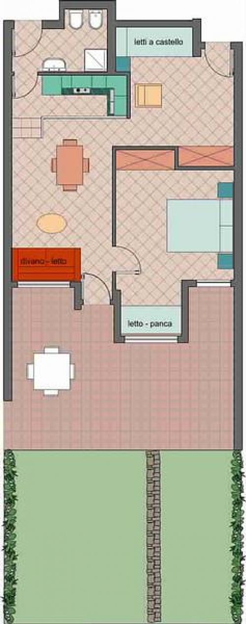 Residence La Chimera 2 Zi - Bungalow#2
