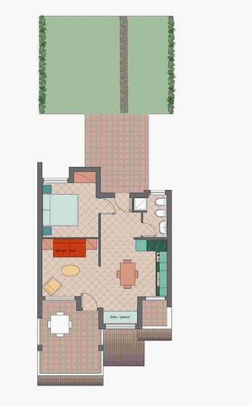 Residence La Chimera 2 Zi - Bungalow#4